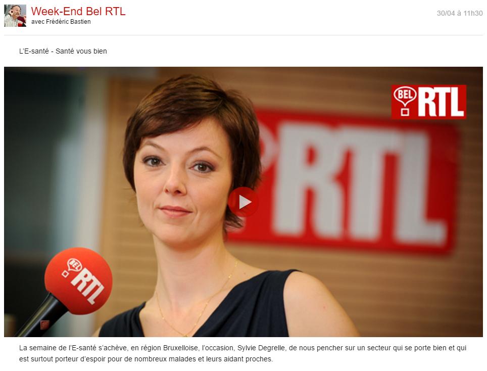 famiDesk sur BelRTL avec Sylvie Degrelle