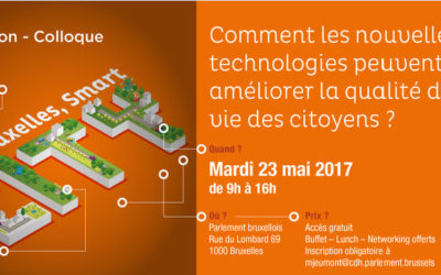 "Invitation au colloque ""Bruxelles, Smart City"""
