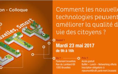 "Invitation au colloque ""Bruxelles, Smart City"""