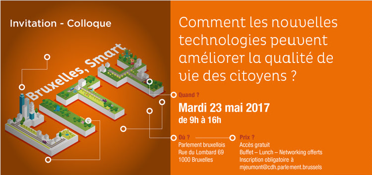 Invitation au colloque « Bruxelles, Smart City »